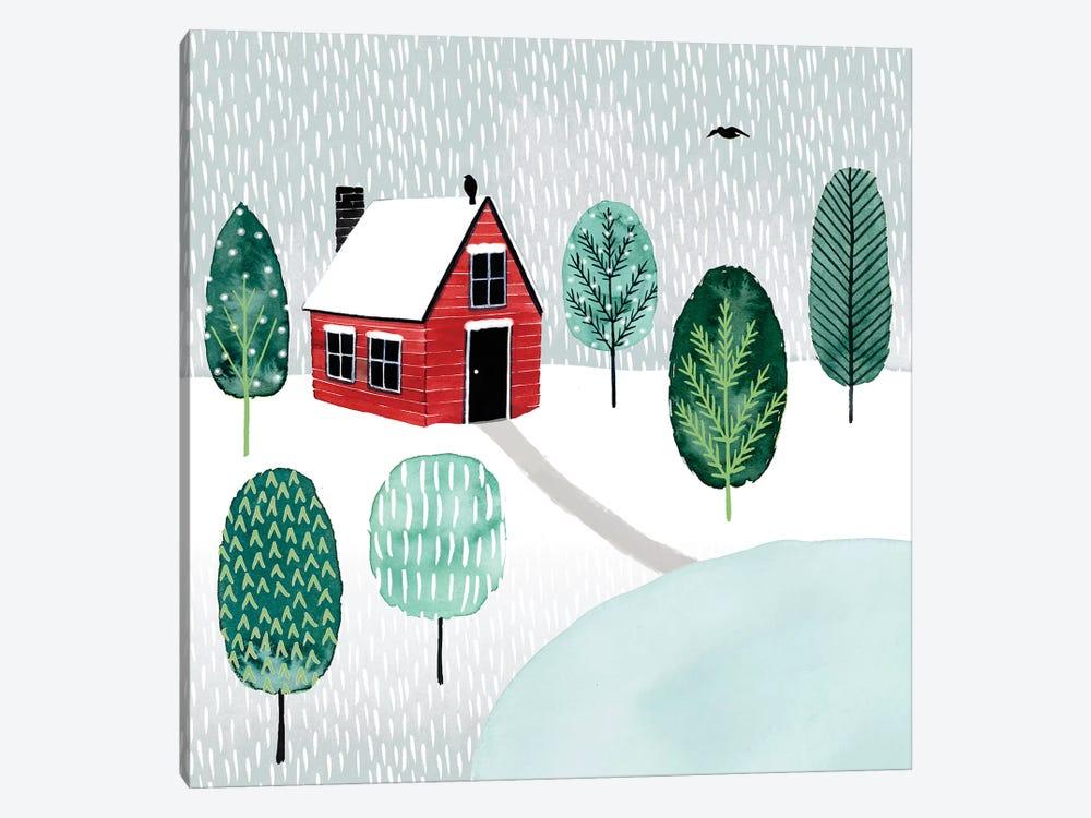 Christmastown I by Grace Popp 1-piece Canvas Wall Art
