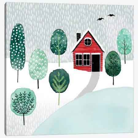 Christmastown II Canvas Print #POP857} by Grace Popp Canvas Artwork