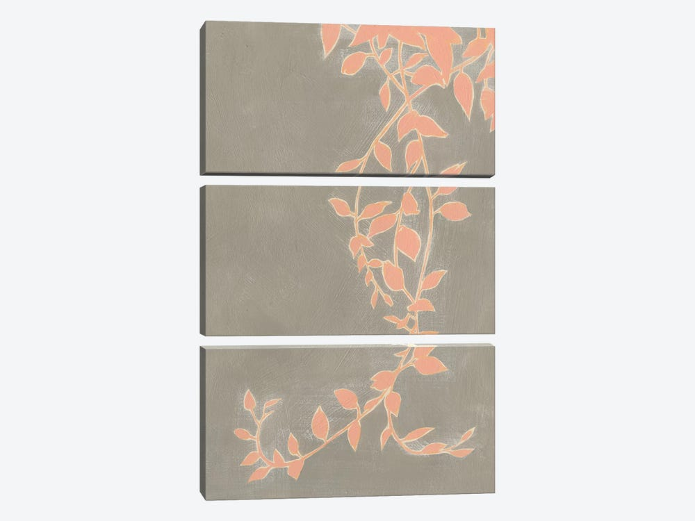 Coral Pothos II by Grace Popp 3-piece Canvas Wall Art