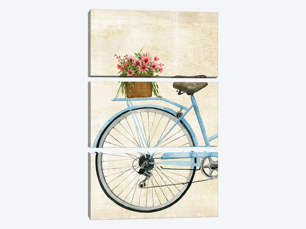 Courier Fleur I by Grace Popp 3-piece Canvas Art Print