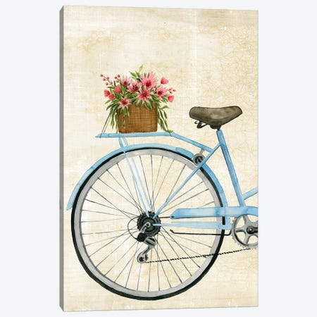 Courier Fleur I Canvas Print #POP868} by Grace Popp Canvas Wall Art