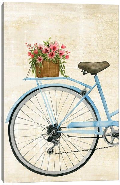 Courier Fleur I Canvas Art Print