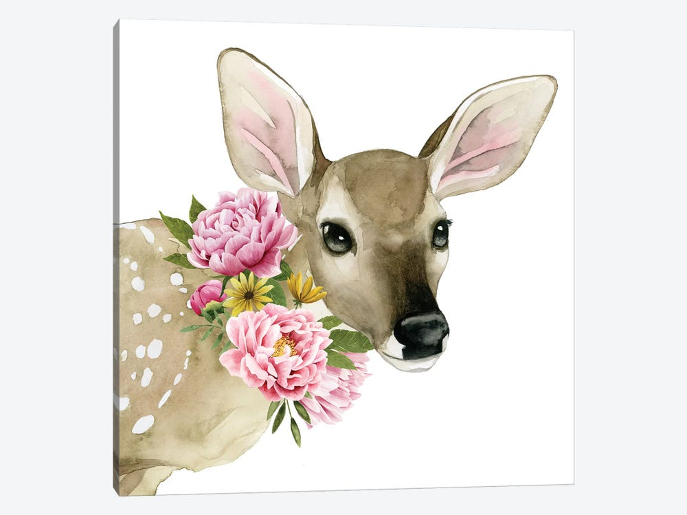 Deer Spring I by Grace Popp 1-piece Canvas Artwork