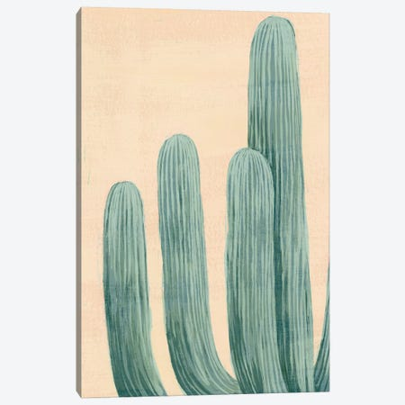 Dusty Cacti I Canvas Print #POP876} by Grace Popp Canvas Wall Art