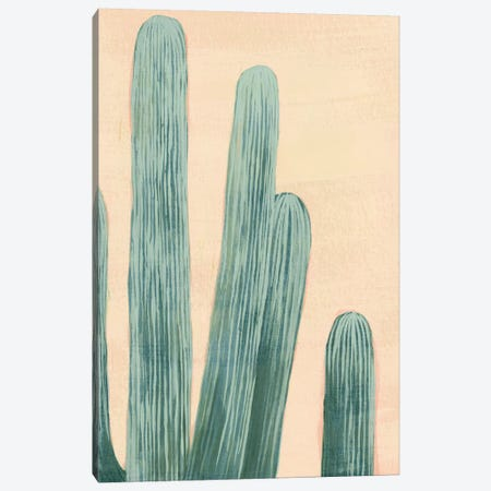 Dusty Cacti II Canvas Print #POP877} by Grace Popp Canvas Artwork