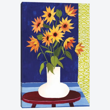 Flowers For Friday II Canvas Print #POP887} by Grace Popp Canvas Art Print