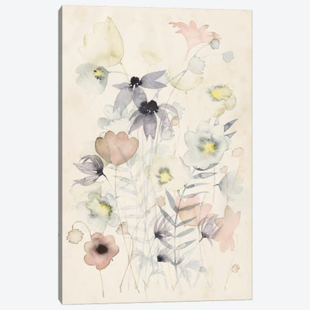 Garden Whisper II Canvas Print #POP893} by Grace Popp Art Print