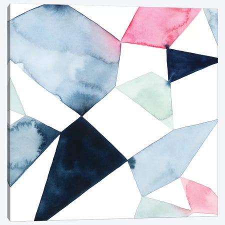 Geo Gems II 3-Piece Canvas #POP895} by Grace Popp Canvas Artwork