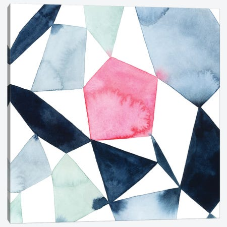 Geo Gems IV Canvas Print #POP897} by Grace Popp Canvas Wall Art