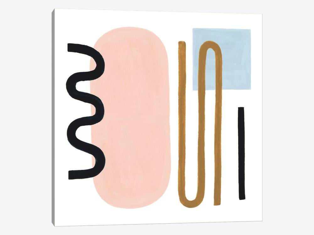 Informal Formation I by Grace Popp 1-piece Canvas Art