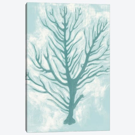 Living Teal I Canvas Print #POP912} by Grace Popp Canvas Wall Art