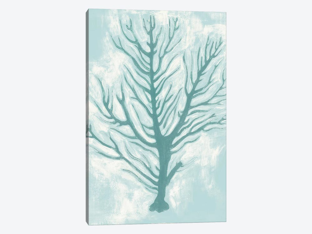 Living Teal I 1-piece Canvas Print