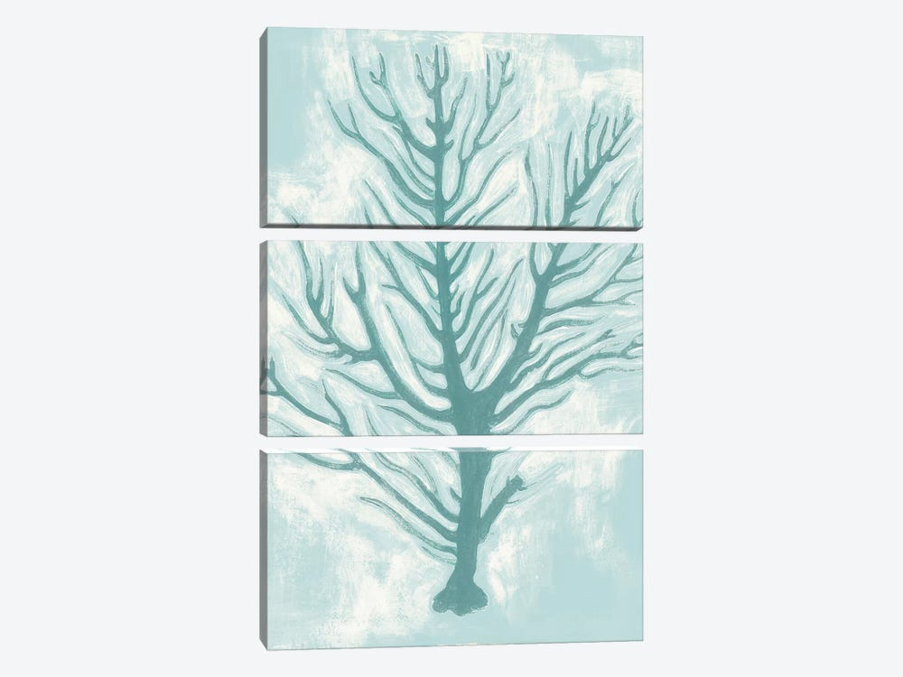 Living Teal I 3-piece Canvas Art Print
