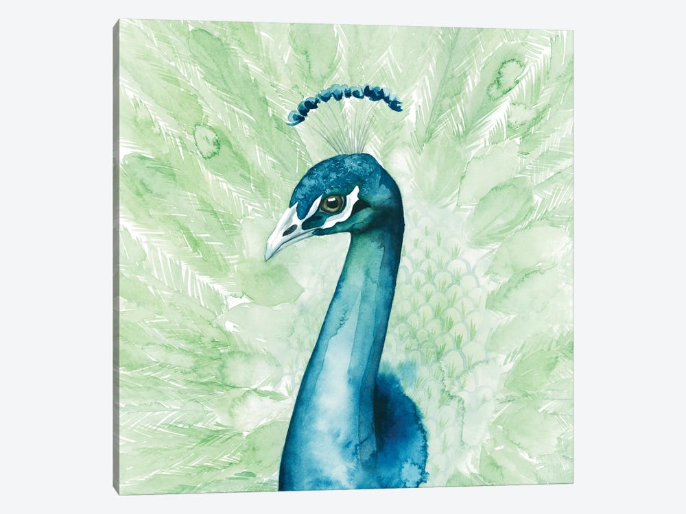 Lucent Plume II by Grace Popp 1-piece Canvas Art