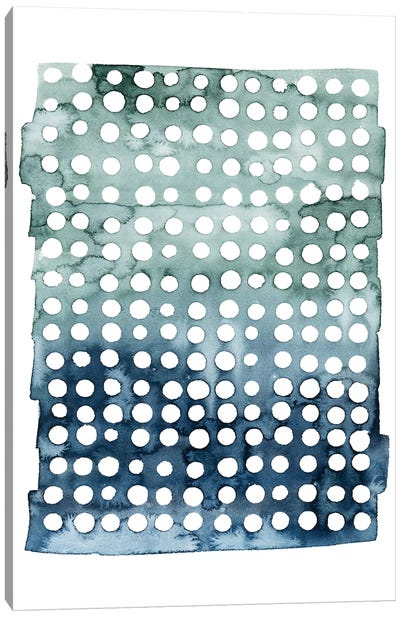 Morse Dots I Canvas Art Print
