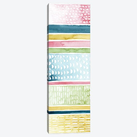 Pastel Strata I Canvas Print #POP925} by Grace Popp Canvas Artwork