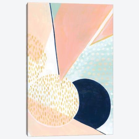 Peach Eclipse I 3-Piece Canvas #POP928} by Grace Popp Canvas Print