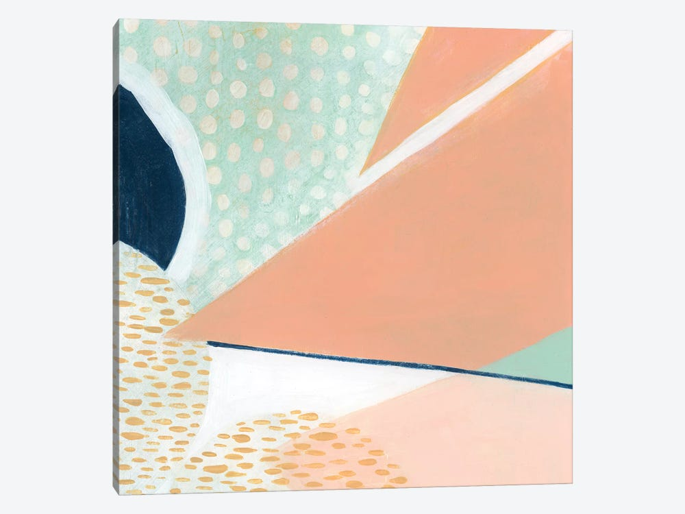 Peach Eclipse III by Grace Popp 1-piece Art Print