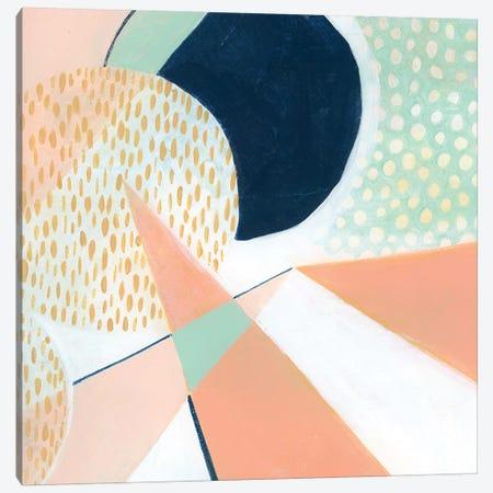Peach Eclipse VI 3-Piece Canvas #POP933} by Grace Popp Canvas Artwork