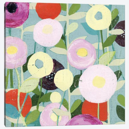 Poppy Strata I Canvas Print #POP93} by Grace Popp Canvas Art