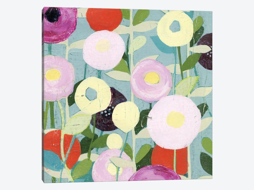 Poppy Strata I by Grace Popp 1-piece Canvas Artwork