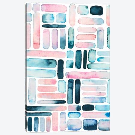 Prisma Puzzle I Canvas Print #POP941} by Grace Popp Canvas Print