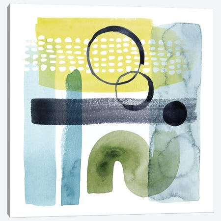 Refractions I Canvas Print #POP947} by Grace Popp Canvas Art