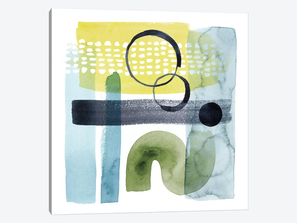 Refractions I by Grace Popp 1-piece Canvas Art Print