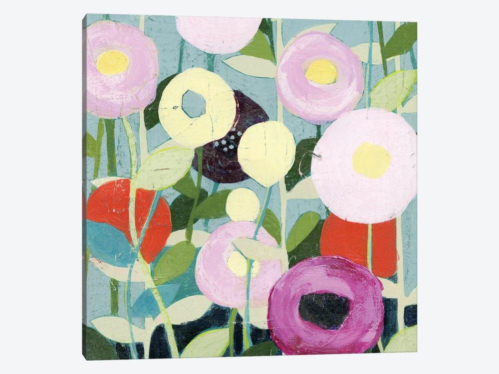 Poppy Strata II by Grace Popp 1-piece Canvas Print