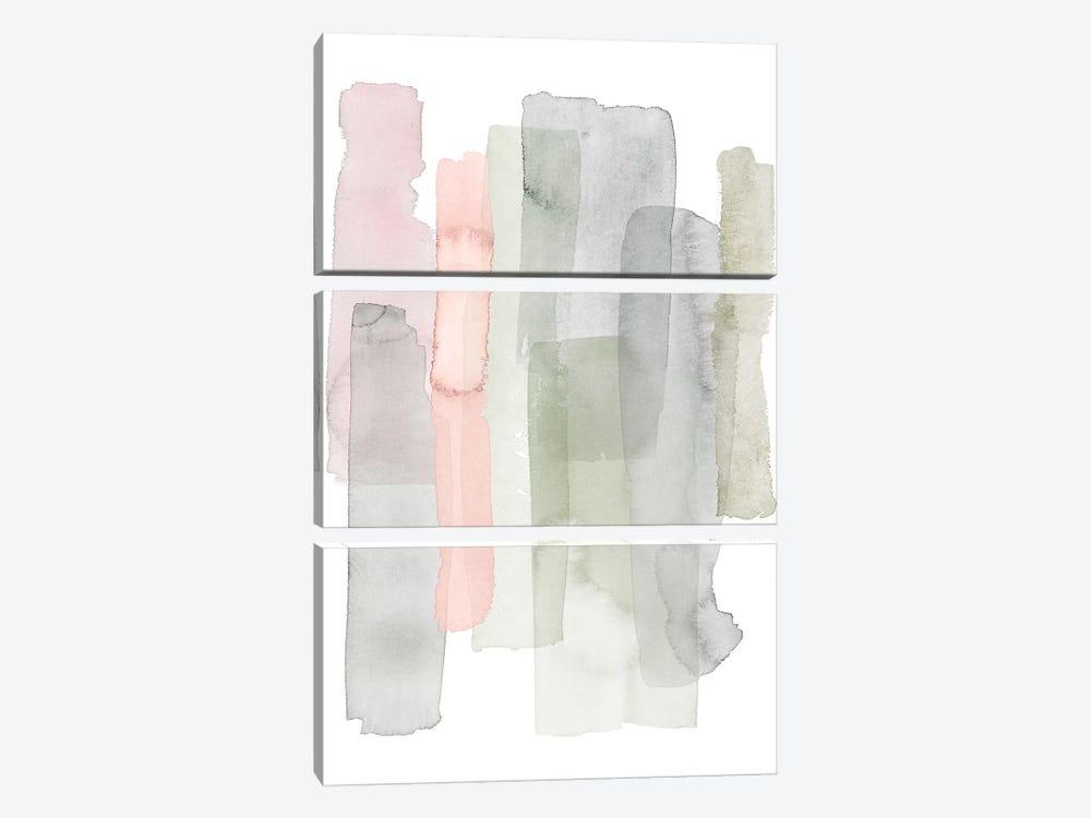 Sorbet Falls II by Grace Popp 3-piece Canvas Art Print