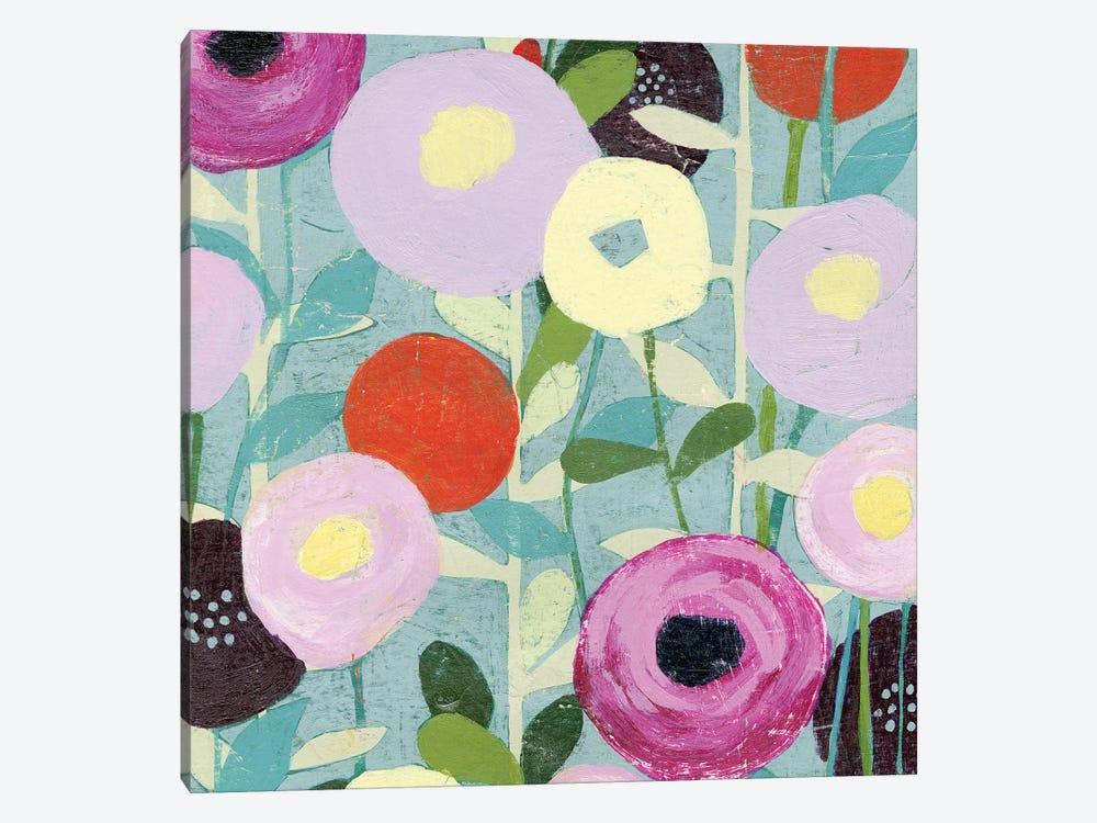 Poppy Strata III by Grace Popp 1-piece Canvas Wall Art