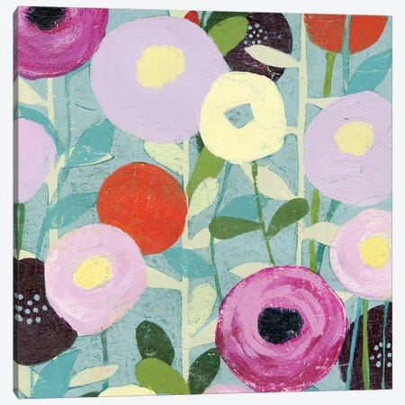 Poppy Strata III Canvas Print #POP95} by Grace Popp Art Print