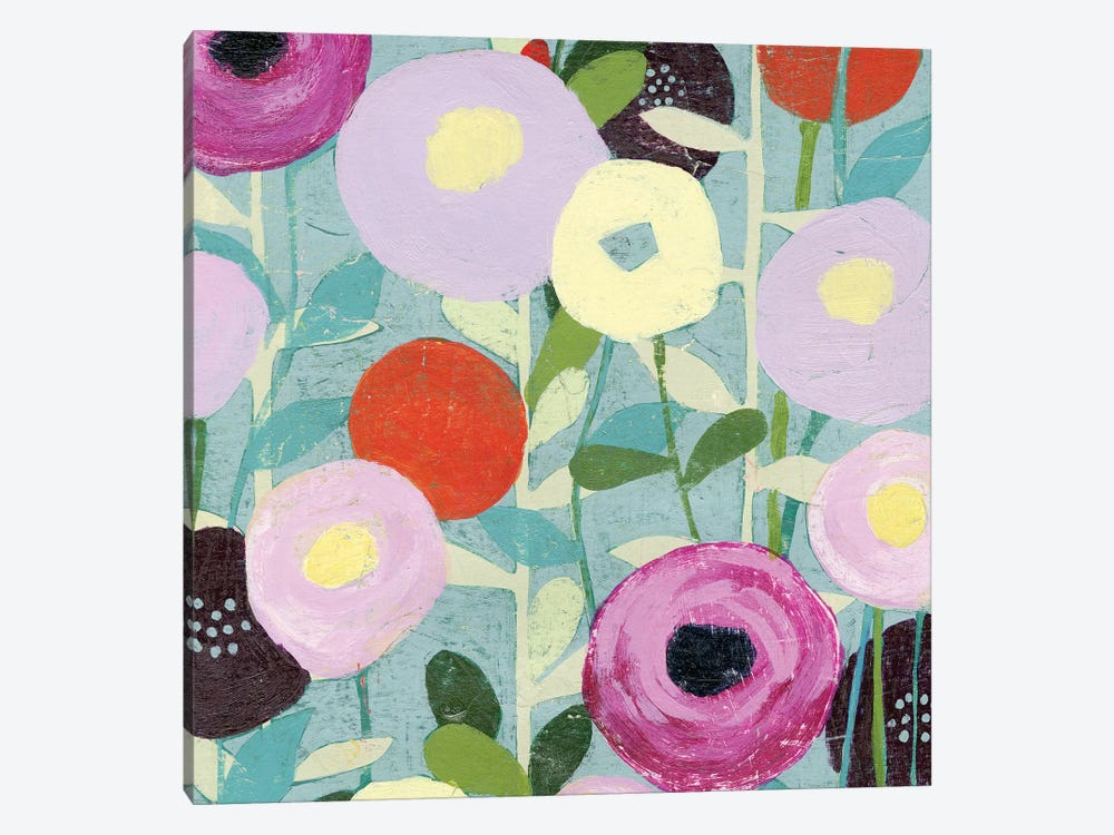 Poppy Strata III by Grace Popp 1-piece Canvas Wall Art