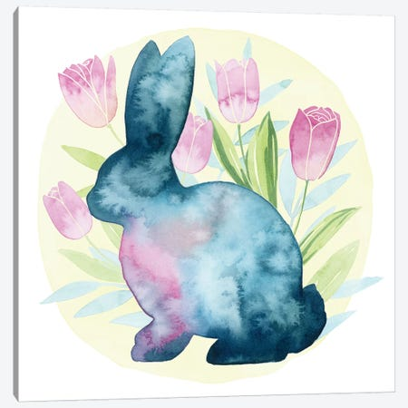 Tulip Easter I Canvas Print #POP962} by Grace Popp Canvas Art Print