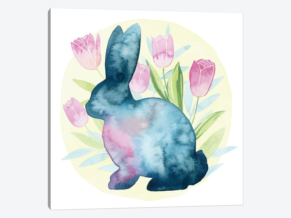 Tulip Easter I by Grace Popp 1-piece Canvas Art