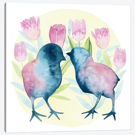 Tulip Easter II Canvas Print #POP963} by Grace Popp Canvas Print