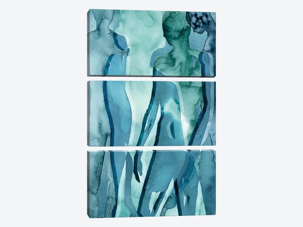 Water Women II by Grace Popp 3-piece Canvas Art Print