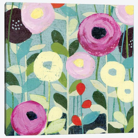 Poppy Strata IV Canvas Print #POP96} by Grace Popp Canvas Print