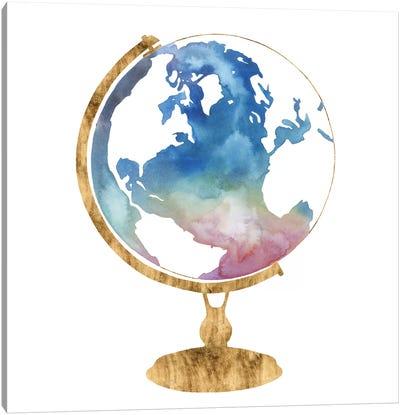 Adventure Globe I Canvas Art Print