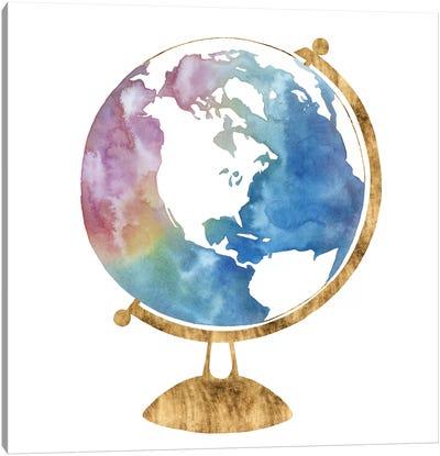 Adventure Globe II Canvas Art Print