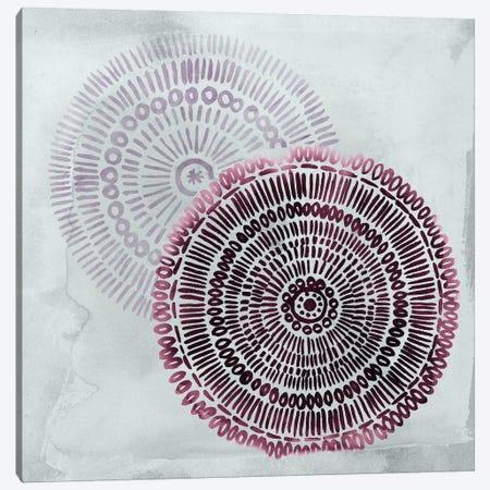Berry Mandalas I 3-Piece Canvas #POP984} by Grace Popp Canvas Artwork