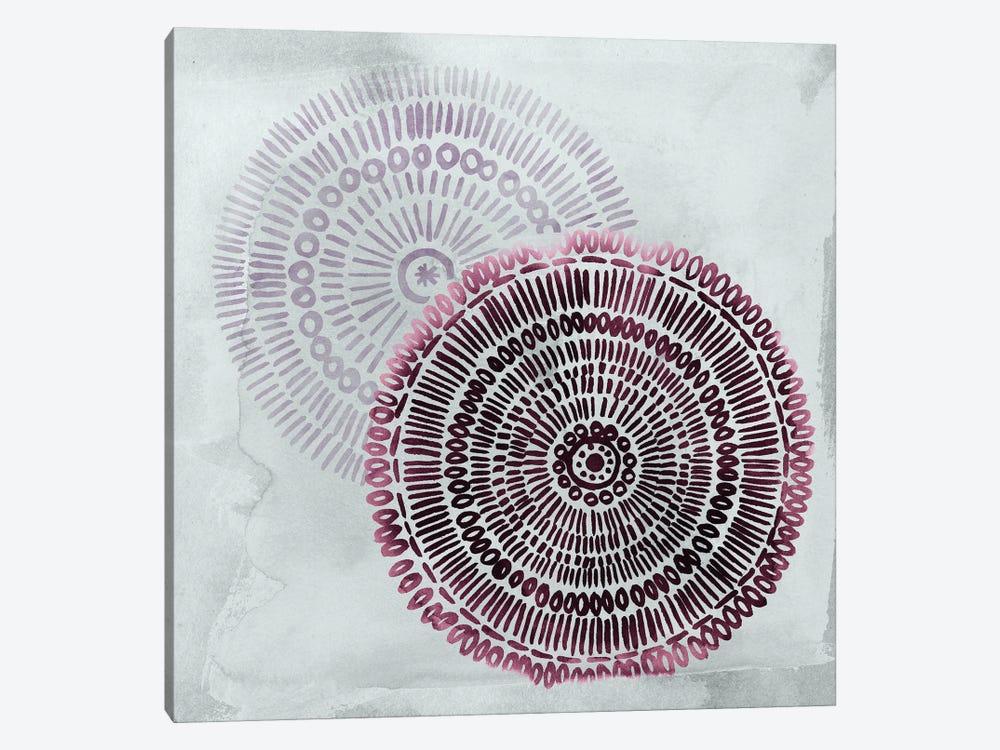 Berry Mandalas I by Grace Popp 1-piece Canvas Artwork