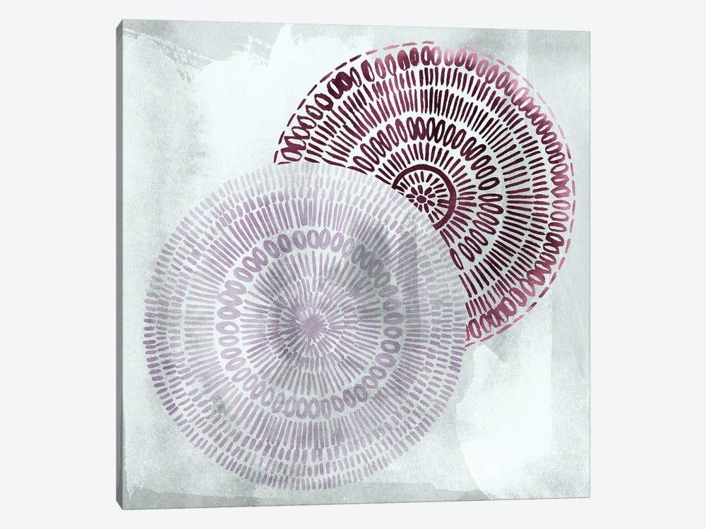 Berry Mandalas II by Grace Popp 1-piece Canvas Print