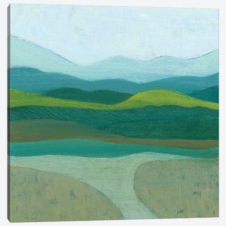 Blue Mountains I 3-Piece Canvas #POP986} by Grace Popp Canvas Artwork