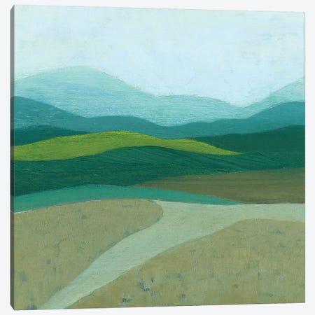 Blue Mountains II 3-Piece Canvas #POP987} by Grace Popp Canvas Artwork