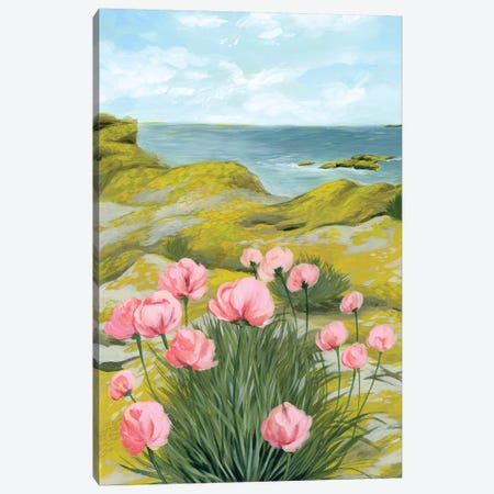 Cliffside I Canvas Print #POP990} by Grace Popp Canvas Art