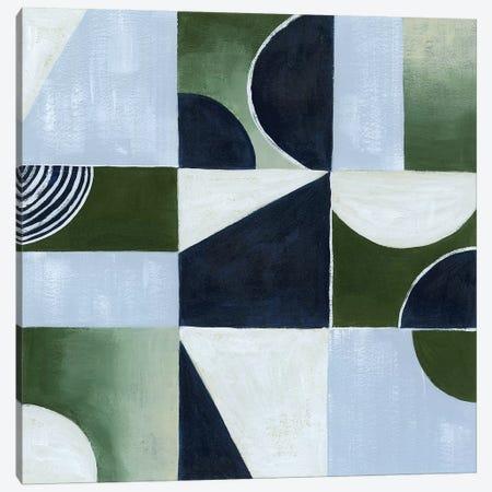 Crop Circles I Canvas Print #POP994} by Grace Popp Art Print