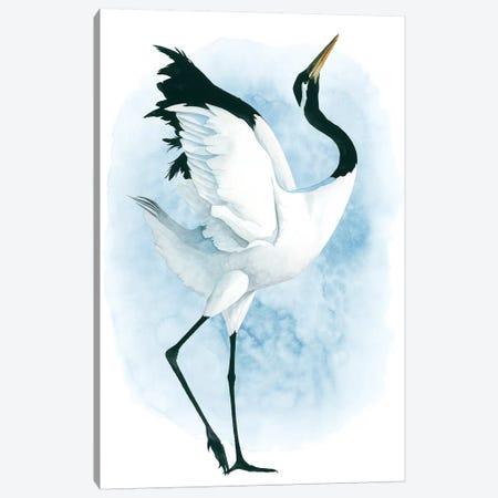 Dancing Crane II Canvas Print #POP997} by Grace Popp Canvas Print