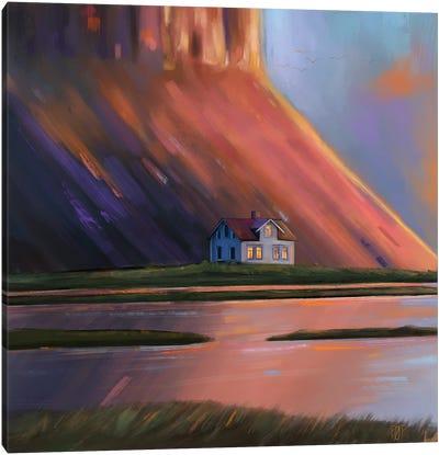 House V Canvas Art Print
