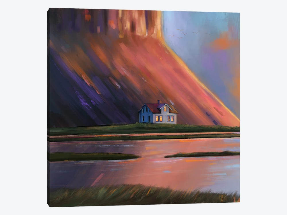 House V by Petur Orn 1-piece Canvas Art